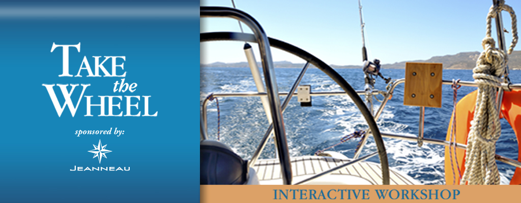 Take the Wheel Interactive Workshop | Annapolis Sailboat Show 2019 | Snag-A-Slip
