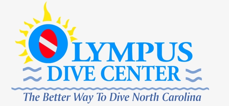 Olympus Dive Center Logo | NC Shipwrecks | Snag-A-Slip