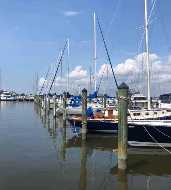 Docks at Cambridge Yacht | Big Bay Hunt 2020 | Snag-A-Slip
