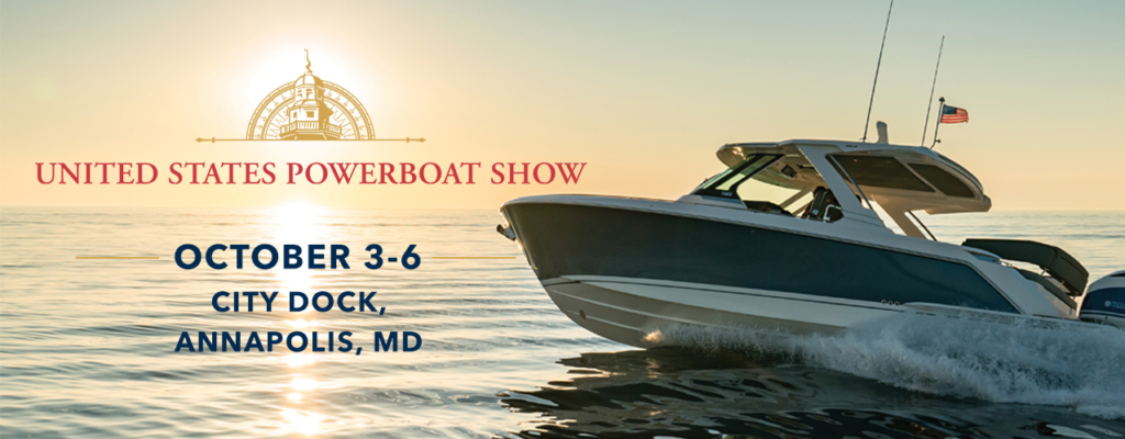 Show Poster | Annapolis Powerboat Show 2019 | Snag-A-Slip