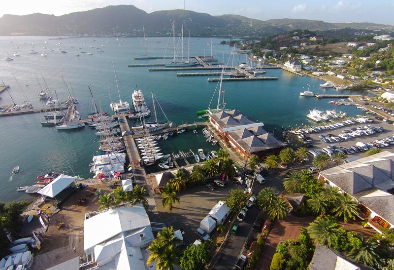 Aerial View Marina | Antigua Yacht Club Marina | Snag-A-Slip