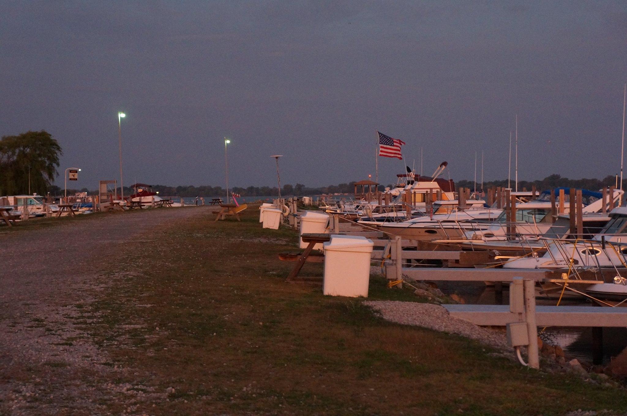 Channel Grove Marina at dusk   New Marinas   Snag-A-Slip