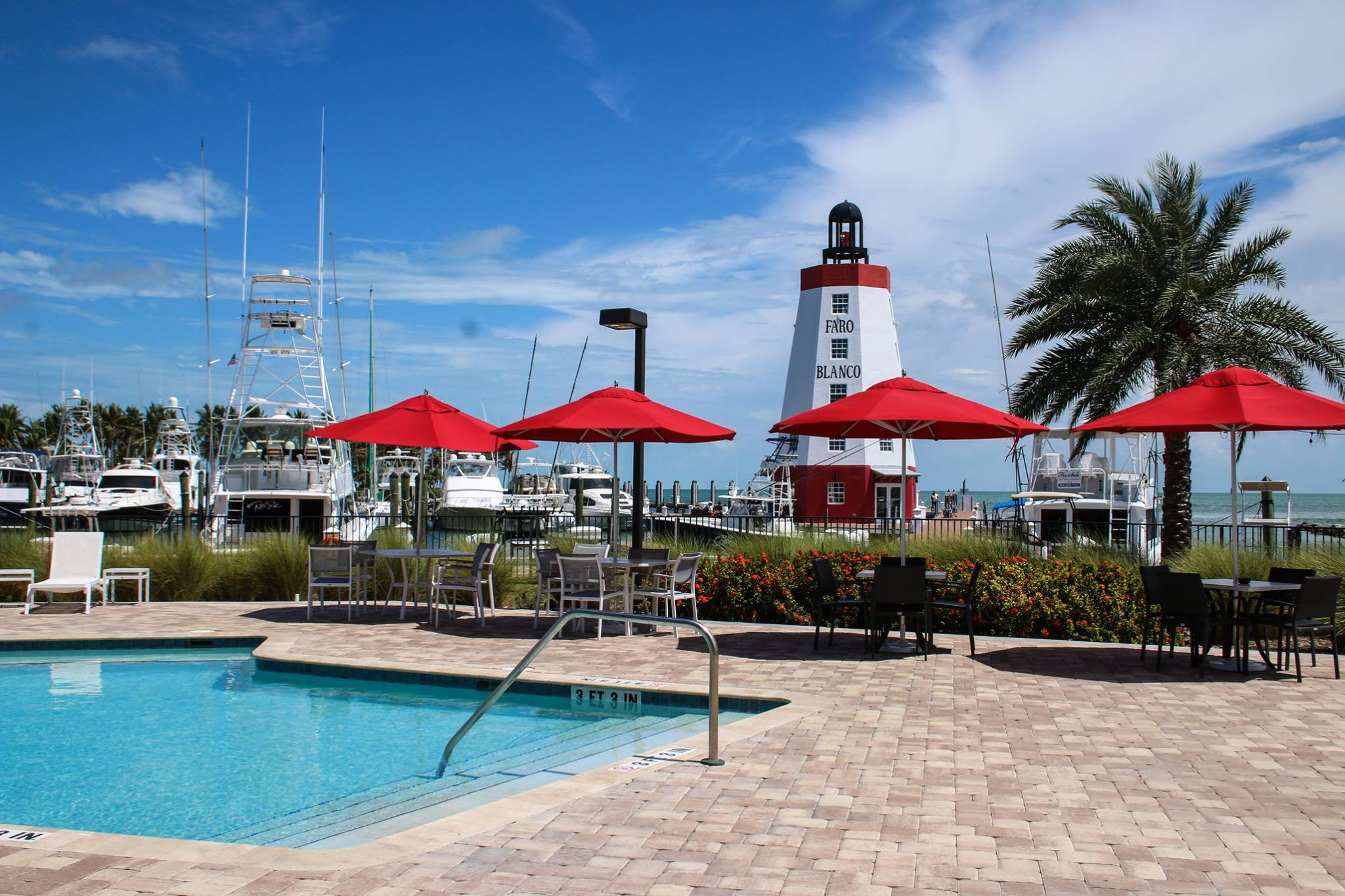 Faro Blanco Resort and Yacht Club swimming pool
