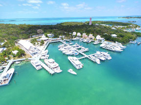 Hope Town Inn Marina Aerial | New Southeast Marinas | Snag-A-Slip