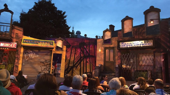 In The Heights Set | Annapolis Summer Garden Theatre | Snag-A-Slip