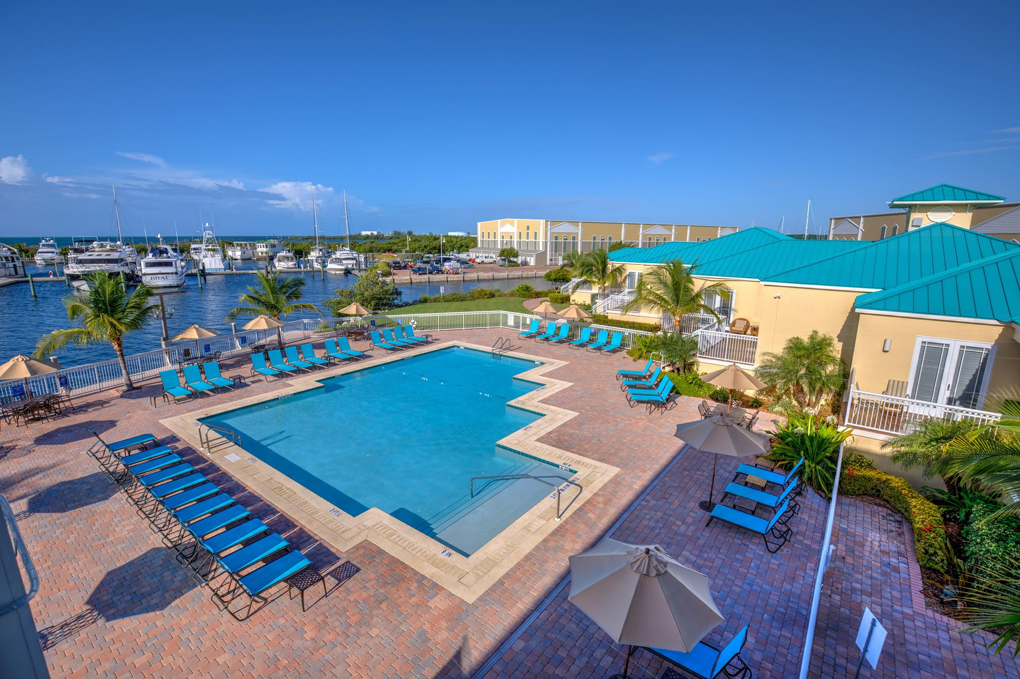 Key West Harbour Marina swimming pool