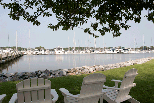 Osprey Point Marina in Rock Hall is a Chesapeake Bay Favorite
