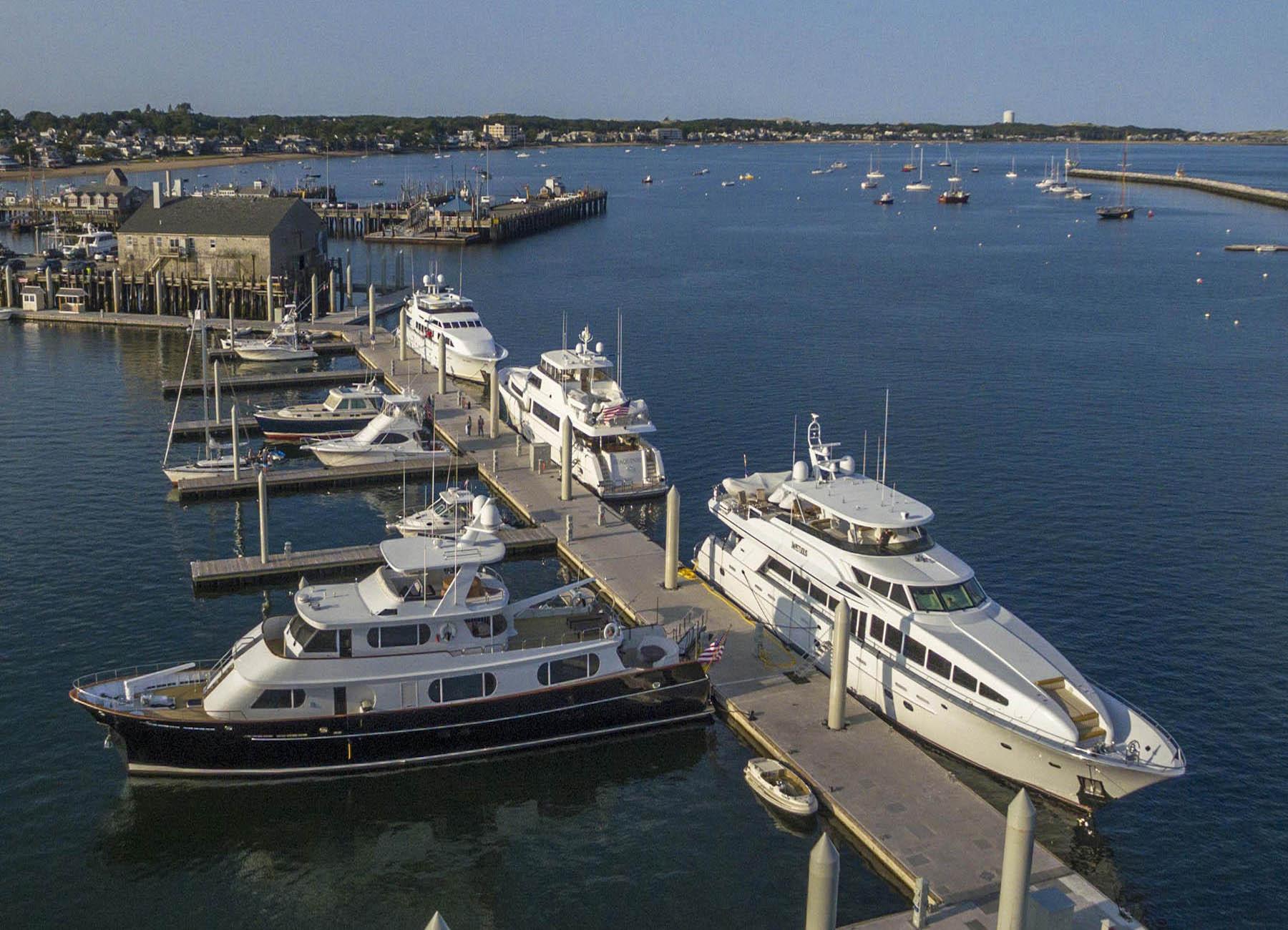 Provincetown Marina Aerial | Snag-A-Slip