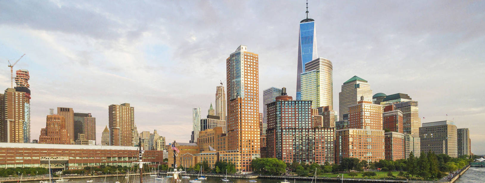 NYC Views from Pier 25 Marina | New Marinas Added | Snag-A-Slip