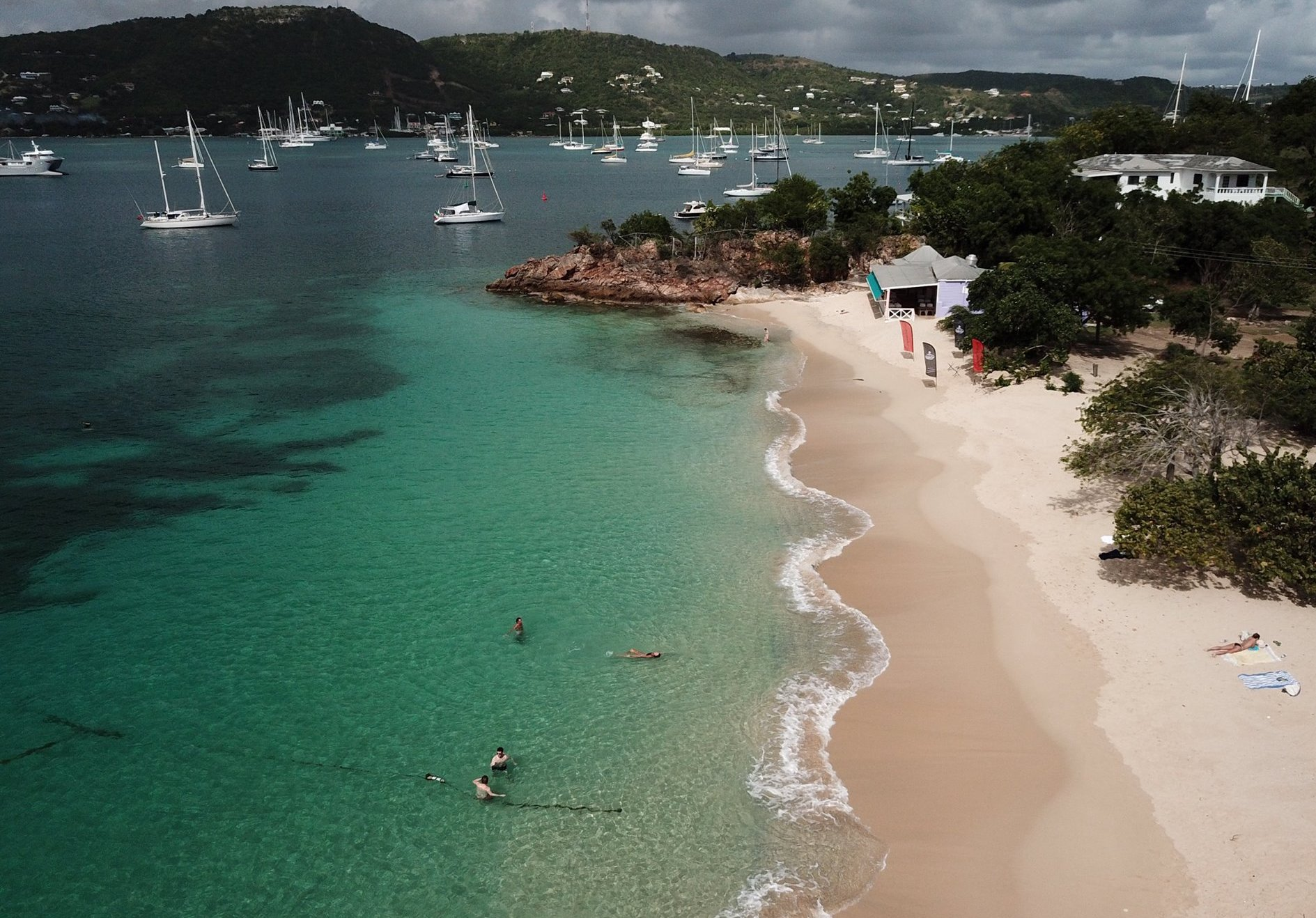 Pigeon Point Beach | Antigua Yacht Club Marina | Snag-A-Slip