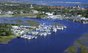 Boating in Florida - River's Edge Marina in St. Augustine on Snag-A-Slip