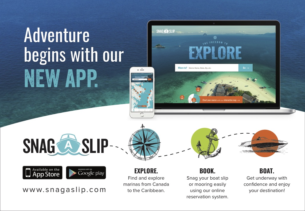 """Dock from your Phone with New Slip Reservation App"" (Chesapeake Bay Magazine)"