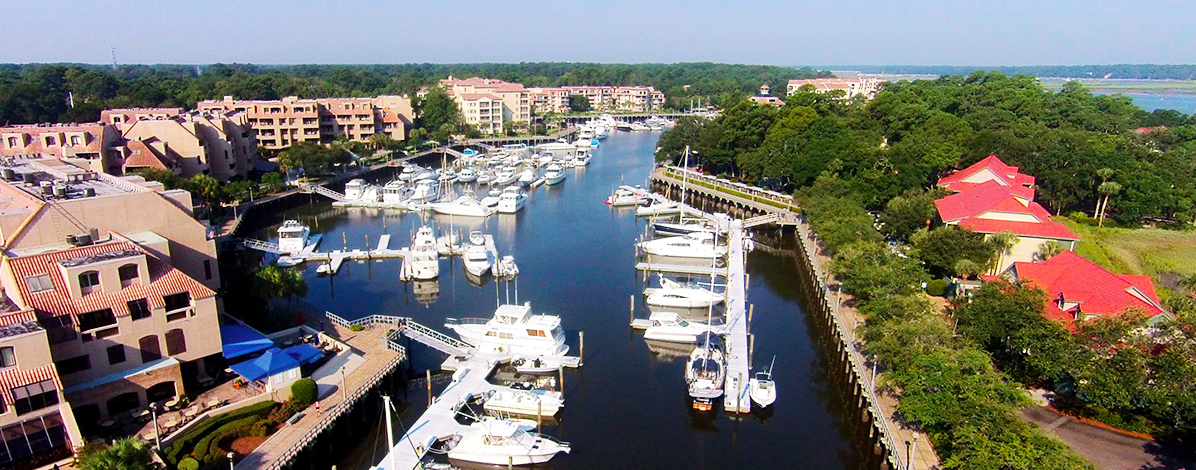 Visit Shelter Cove Marina in Hilton Head, South Carolina