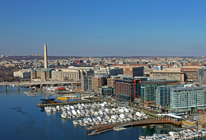 Aerial View | The Wharf Washington DC | Snag-A-Slip