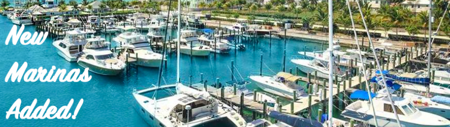 New Marinas Added in August!