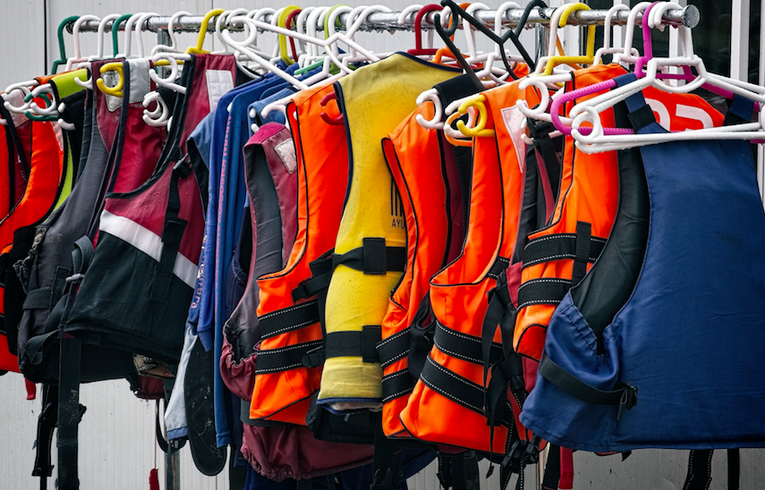 Life Jackets | Dewinterize Your Boat| Snag-A-Slip