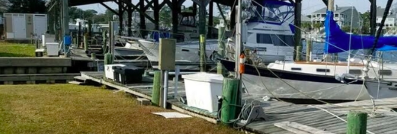 Peltier Creek Marina | NC Shipwrecks | Snag-A-Slip