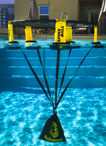 Spikebuoy in water via Spikeball.com | Water Floats | Snag-A-Slip