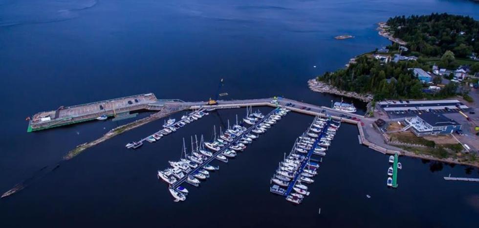 Saint John Marina Aerial | Saint John, New Brunswick | Snag-A-Slip