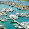 Nassau Yacht Haven Overhead | New Marinas Added in February | Snag-A-Slip