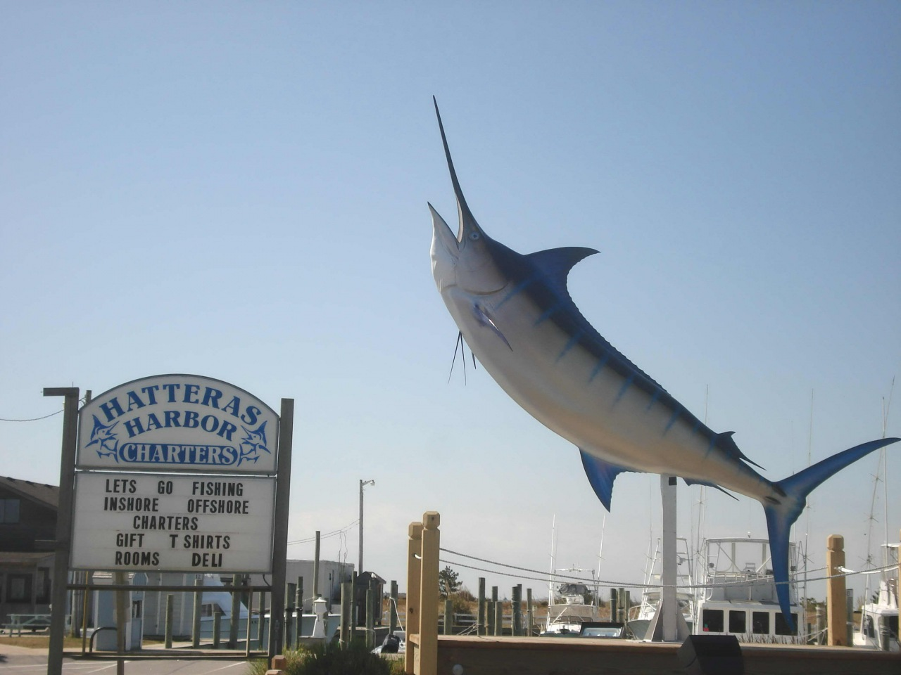 Charters in Hatteras | Snag-A-Slip