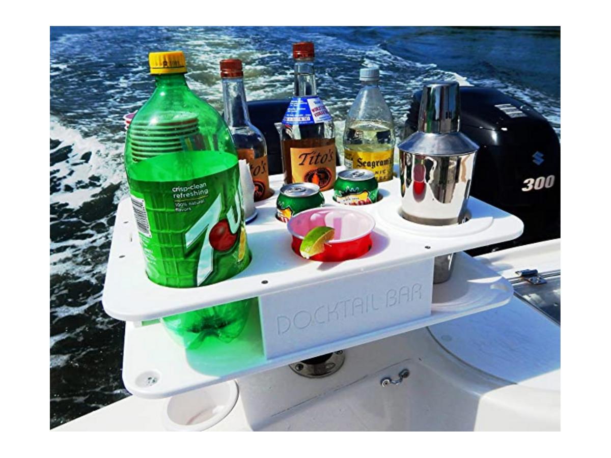 Snag-A-Slip Blog - Cooking on your Boat - Docktail Bar