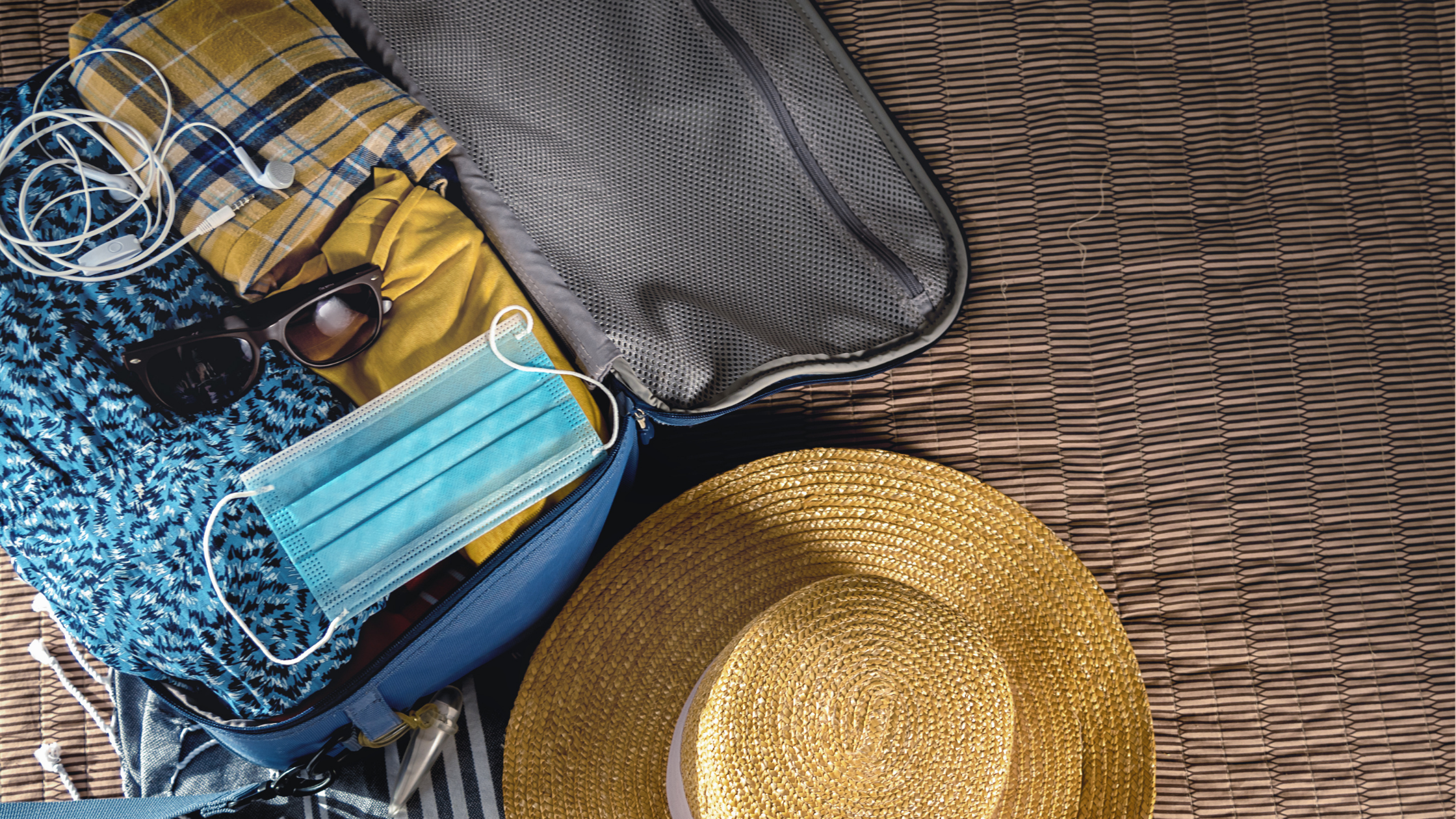 Snag-A-Slip Blog - Essentials for an Overnight Boat Trip - Suitcase