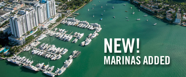 New Marinas Added this Week!