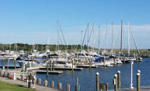 Somers Cove Marina Docks Crisfield