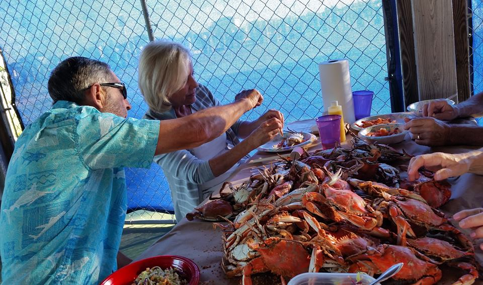Crab Feast at Somers Marina