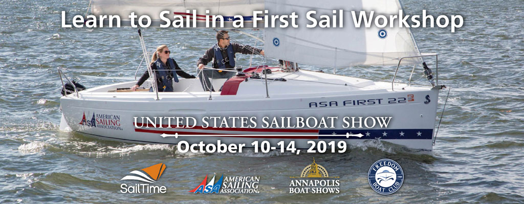 First Sail Workshop | Annapolis Sailboat Show 2019 | Snag-A-Slip