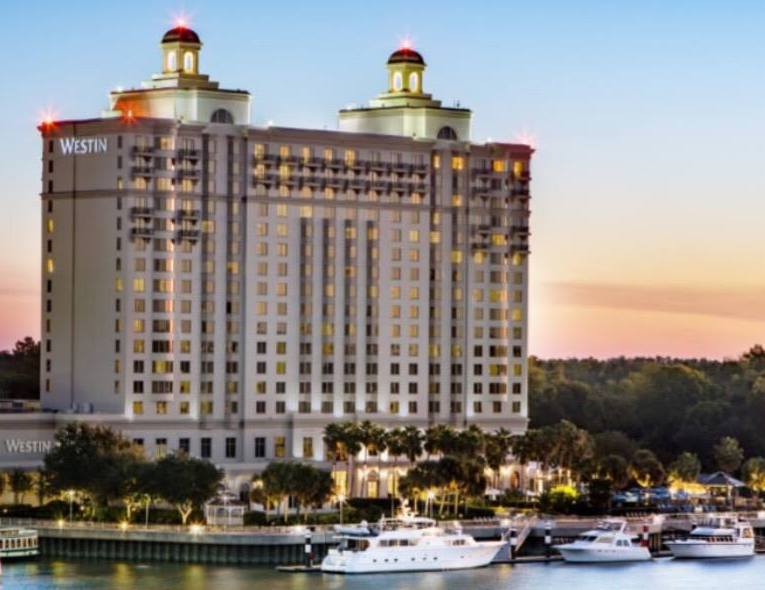 Westin Savannah Harbor Golf Resort and Spa | 2018's Most Visited Cities | Snag-A-Slip