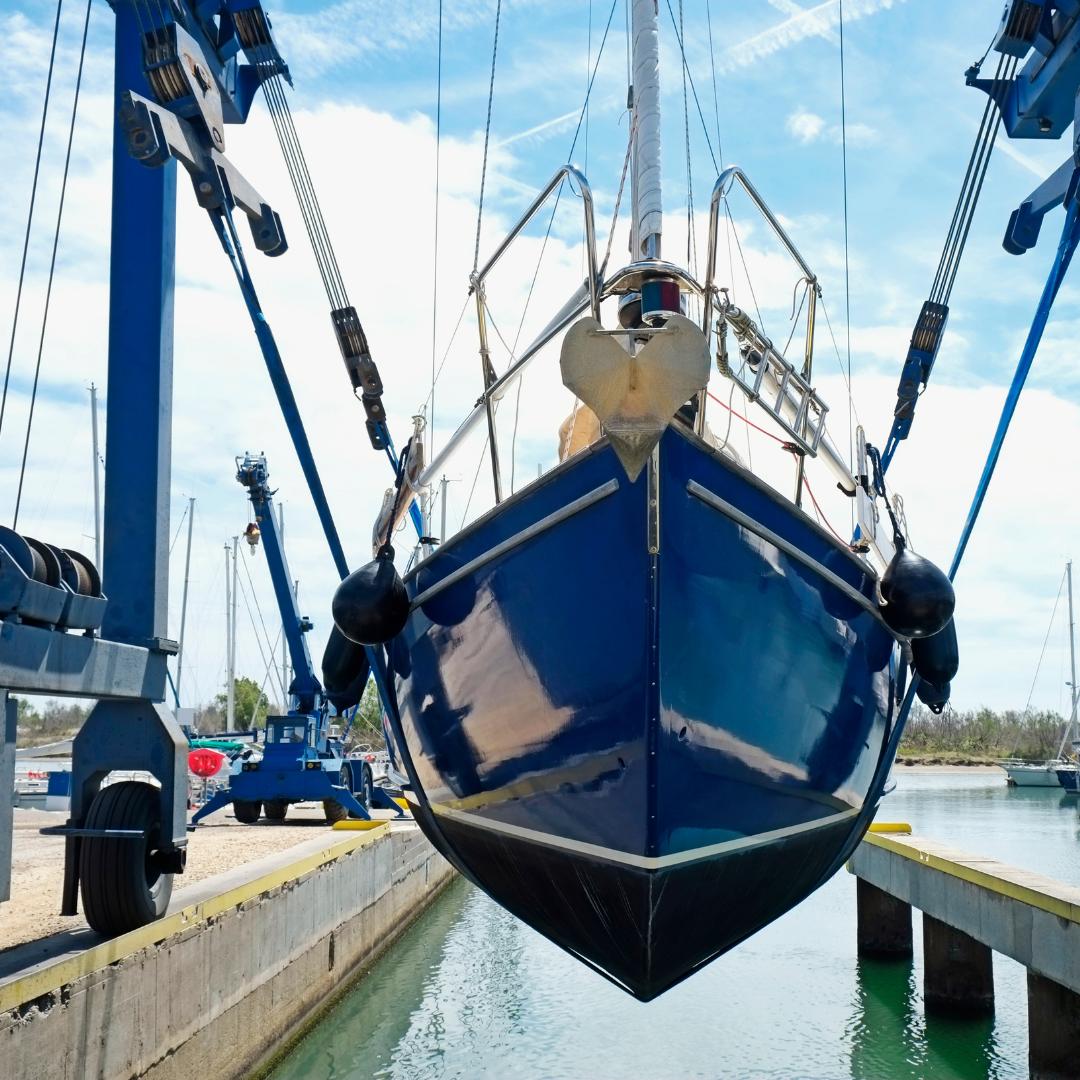 Snag-A-Slip - Blog - Spring Boating Checklist - Boat Hull