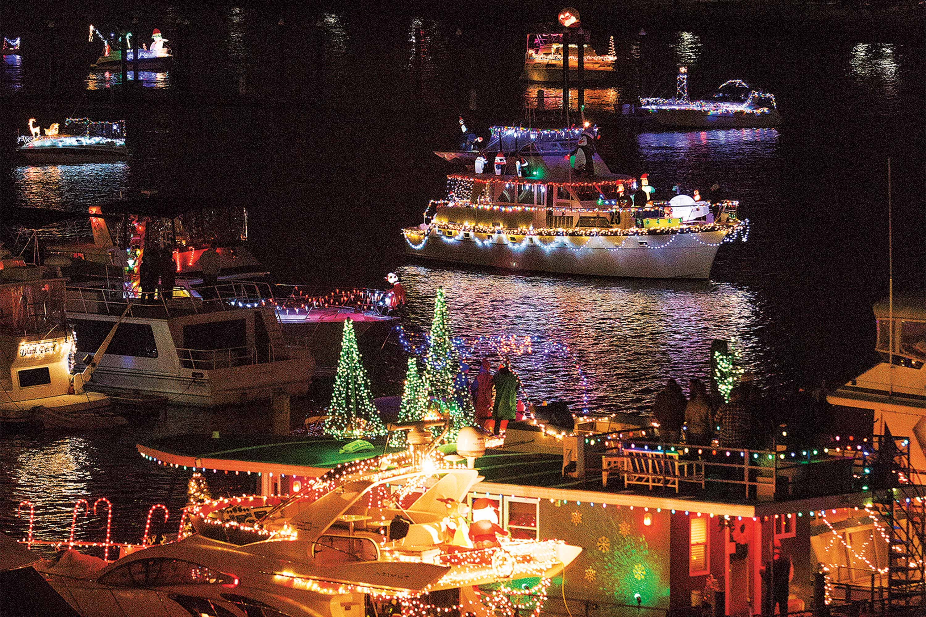 District Holiday Boat Parade | Lighted Boat Parades | Snag-A-Slip