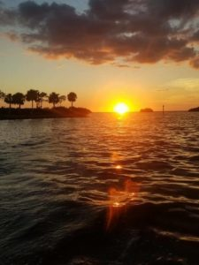 Enjoy the sunset in Punta Gorda, Florida