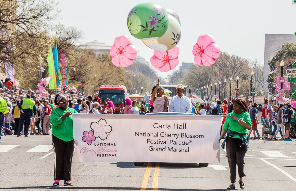 The Cherry Blossom Parade | National Cherry Blossom Festival 2019 | Snag-A-Slip