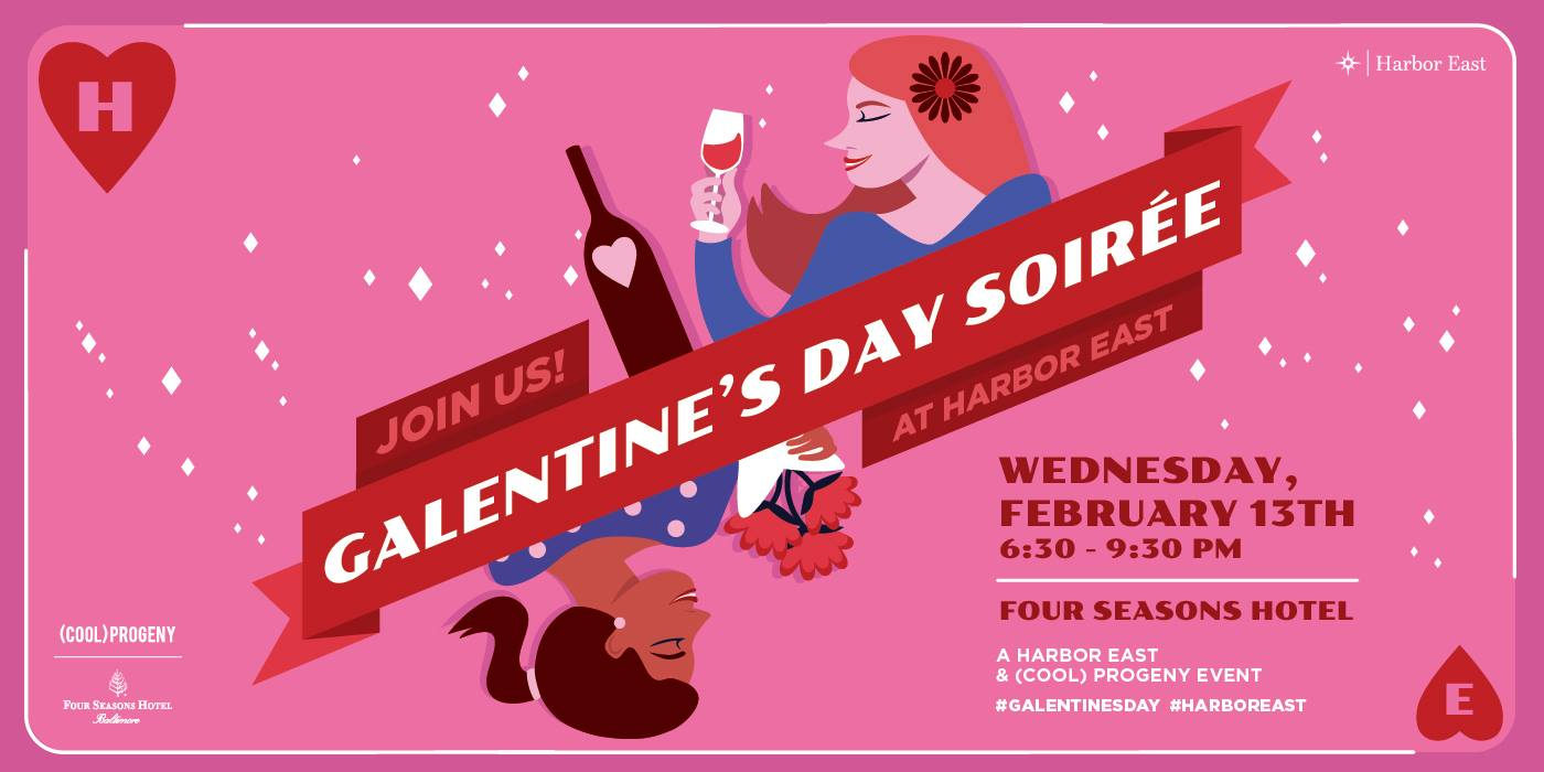 Galentine's Day Soirée | Valentine's Day Events 2019 | Snag-A-Slip