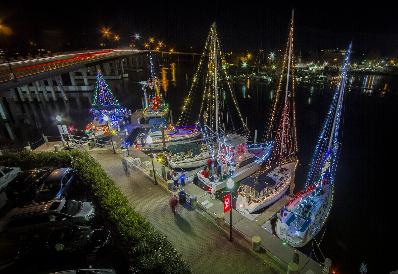 Hampton Lighted Boat Parade