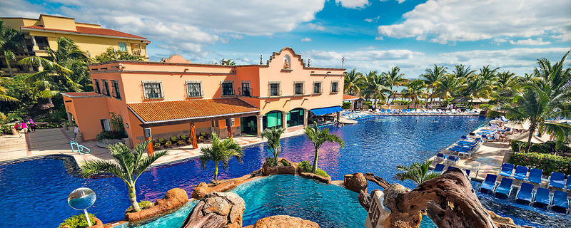 Hotel and Pool Aerial   Mexico Cruising Guide   Snag-A-Slip