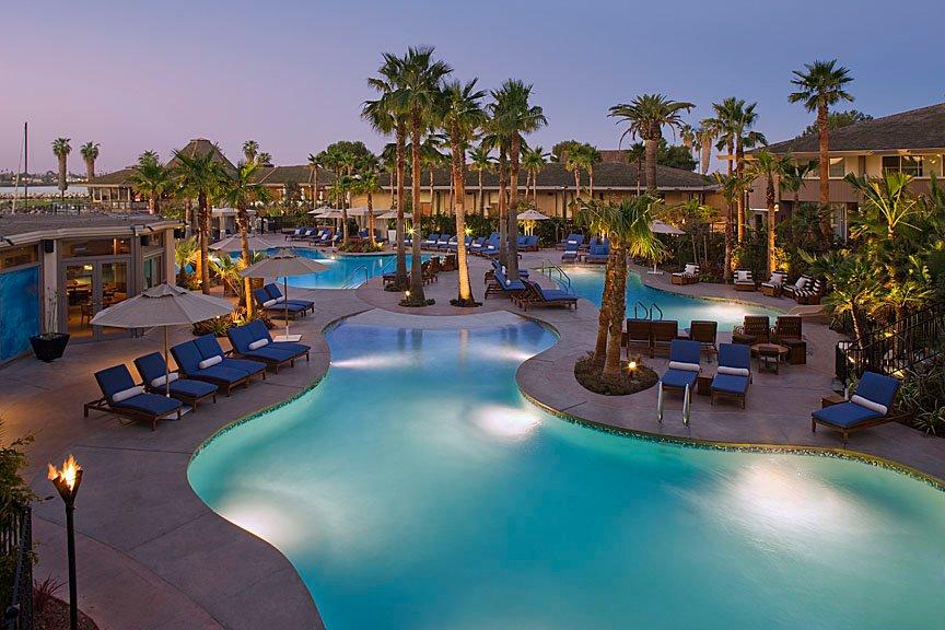Hyatt Regency Mission Bay Spa & Marina swimming pool