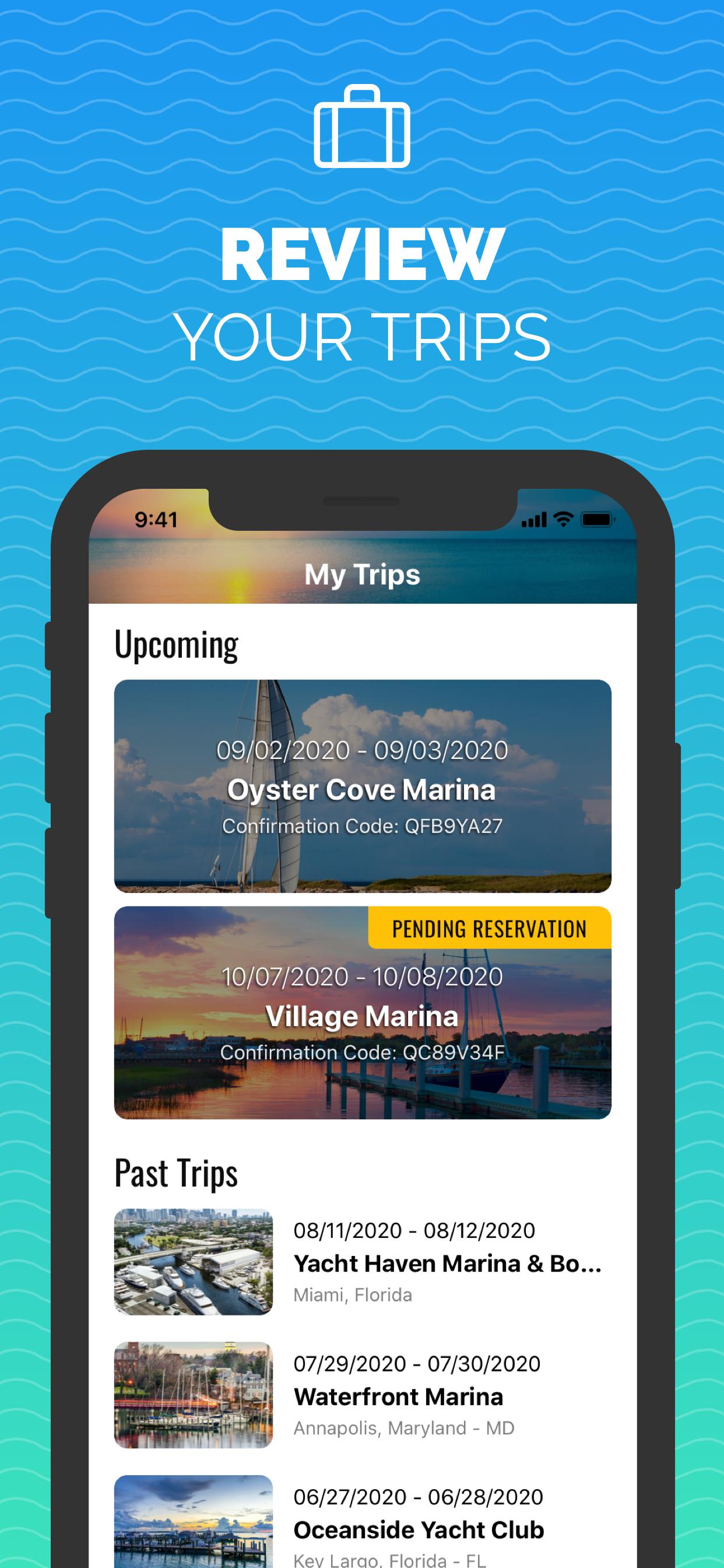 Snag-A-Slip - Mobile App - Updates - Book Boat Slips