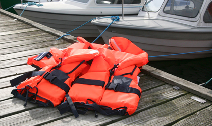 Life Jackets | Dewinterize Your Boat | Snag-A-Slip