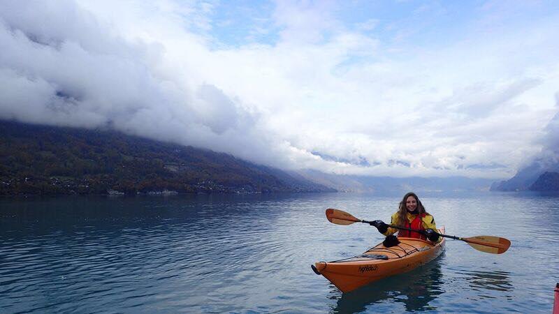 Kayaking in Interlaken, Switzerland | Snag-A-Slip