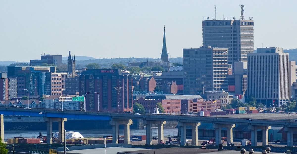 Saint John, New Brunswick Skyline by Miguel Ángel Sanz on Unsplash | Snag-A-Slip