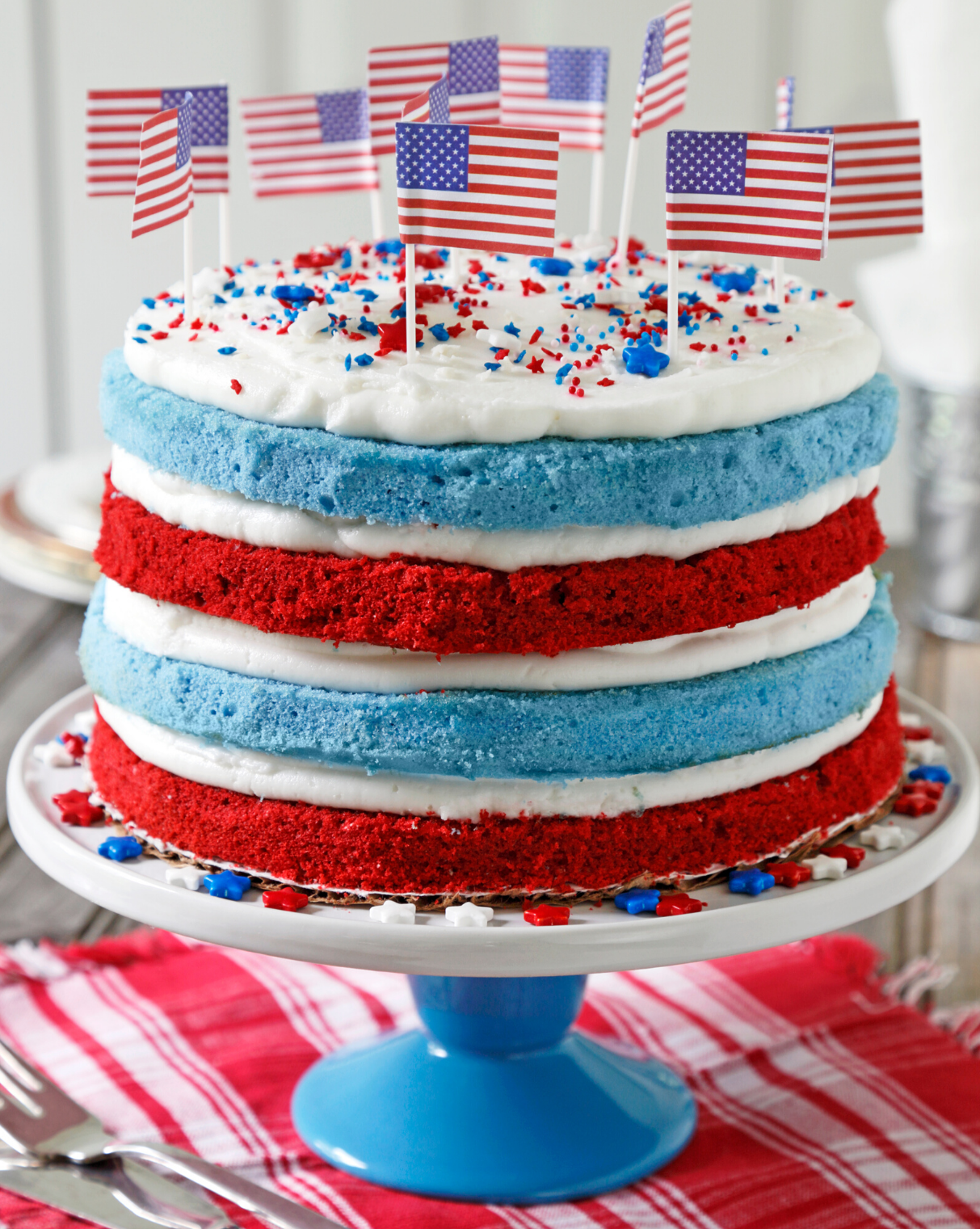 Red White and Blue Baking | 4th of July | Snag-A-Slip