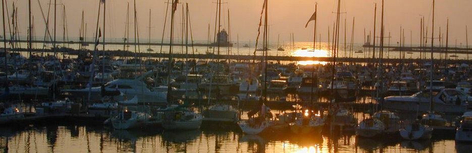 Port Lorain Sunset | Oasis Marinas at Port Lorain | Snag-A-Slip