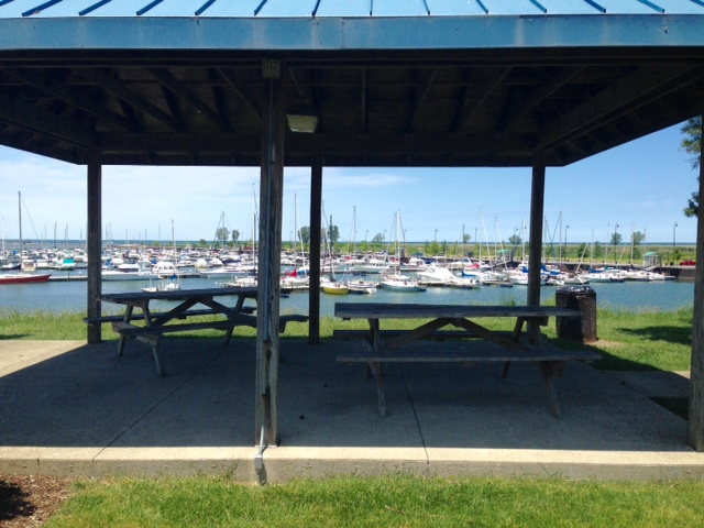 Port Lorain Picnic Area | Oasis Marinas at Port Lorain | Snag-A-Slip