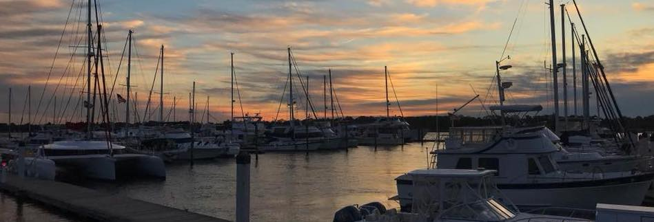 St. Johns at Sunset | ICW South Carolina Marinas | Snag-A-Slip