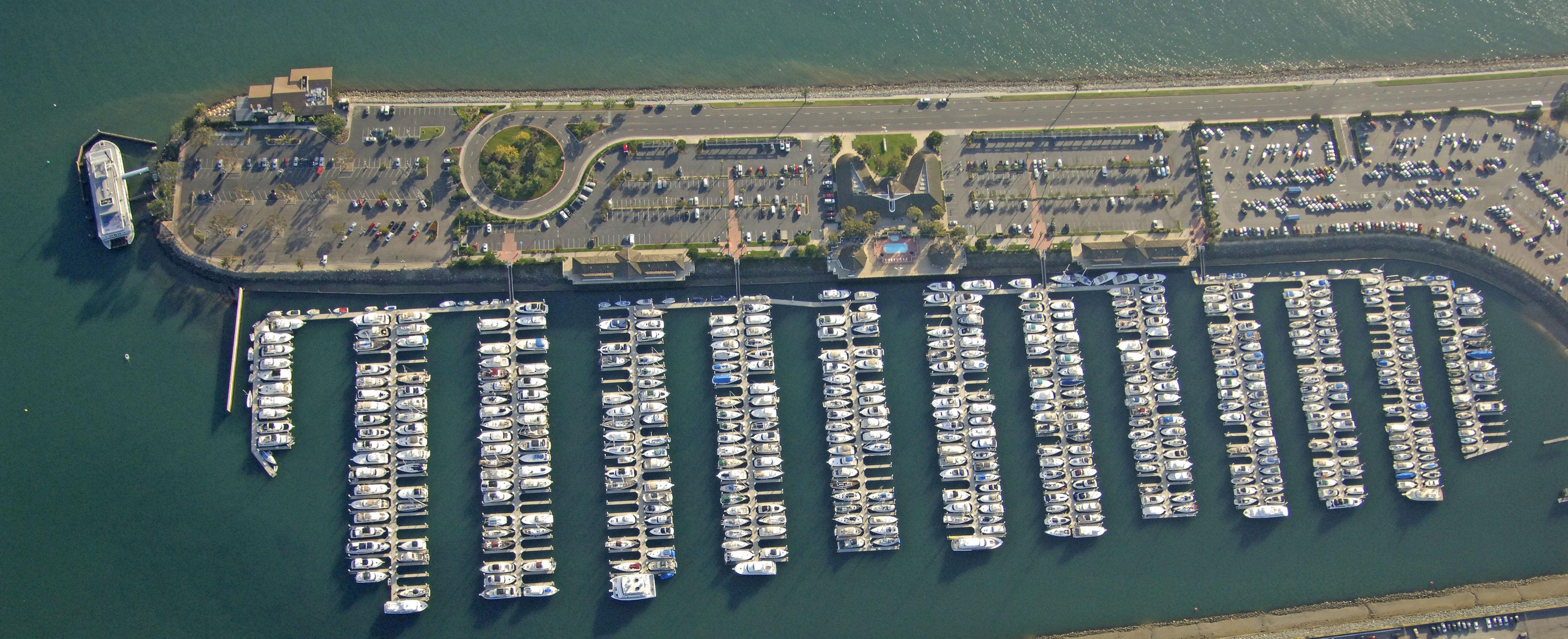 Sunroad Harbor Arial | San Diego | Snag-A-Slip