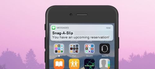 Snag-A-Slip Marina Updates - Text Message Reservations